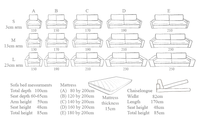 Sofa Bed Sizes Beautiful Sofa Bed Measurements 39 About