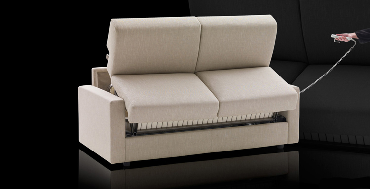 Lampo Motion remote controlled sofa beds · Milanobedding UK, London.