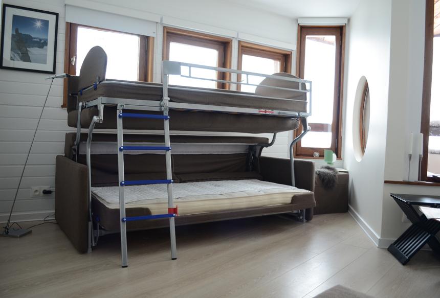 Bonbon Flip Sofa Bunk Bed